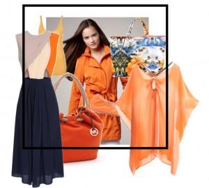 Tangerine is modekleur voorjaar 2012