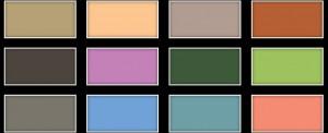 trends kleuren voorjaar 2012