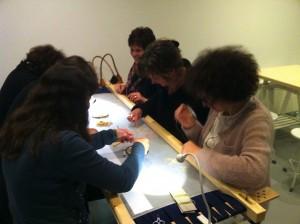 Masterclass Broderie d'Art Tilburg, 22 november 2012
