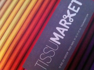 Tissu Market, een stoffenzaak in Parijs