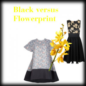 Black versus Flowerprint