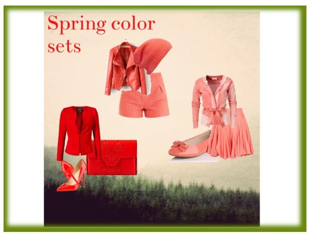 Spring color sets