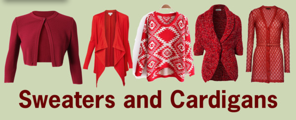 Sweaters and Cardigans