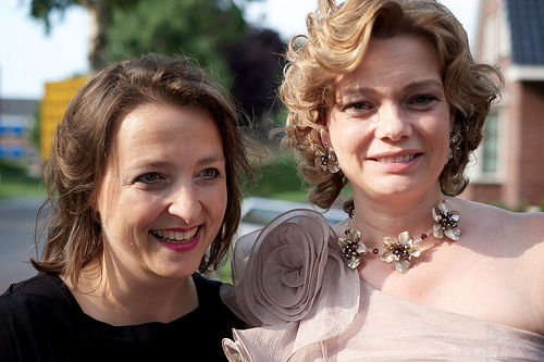Florianne en Saskia