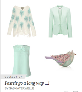 Pastels in collection