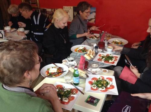 Heerlijke lunch bij Caldo e Freddo in Doesburg!