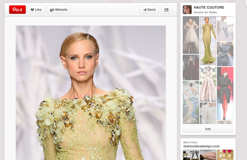 Haute Couture on Pinterest