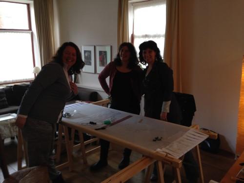 Ingrid, Helga en Dyanne