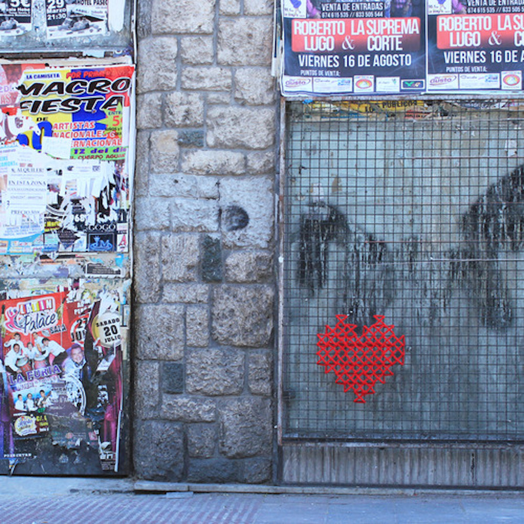 Street Art cross stitch