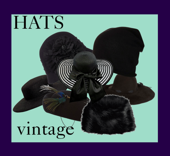 Hats and vintage