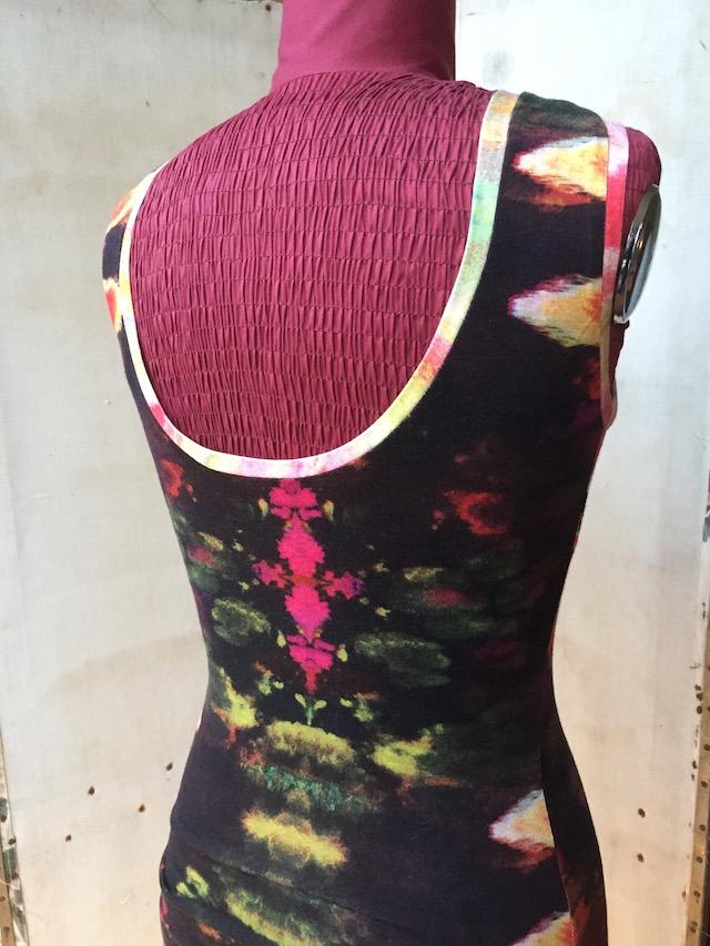 Al Aire borduurwerk op tricot stof