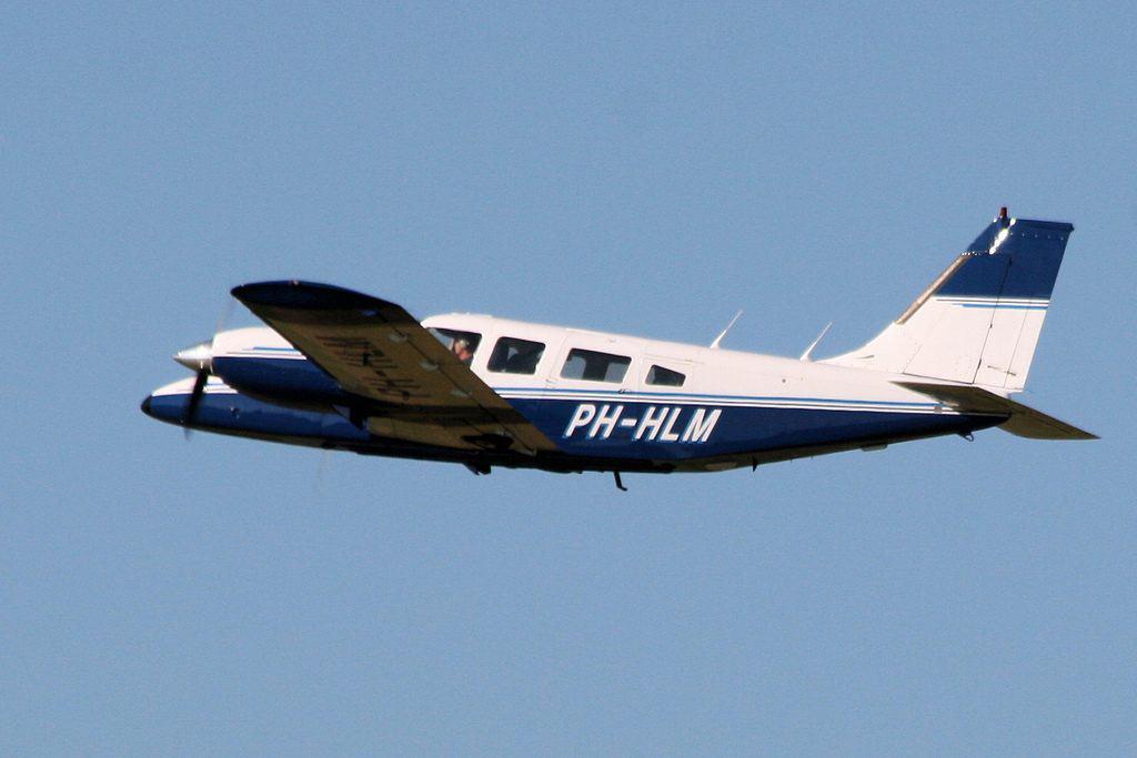 Type vliegtuig waarmee gevlogen wordt