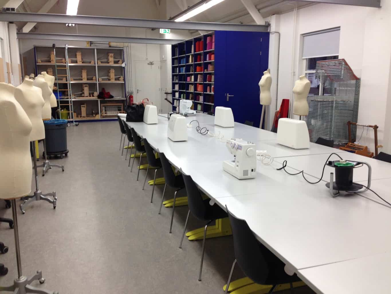 Lesruimte Textielmuseum Tilburg