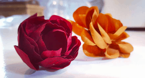 Zijdebloemen