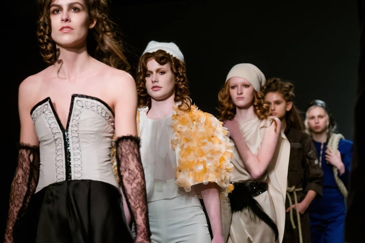 Fashion Show Amsterdam Fashion Week 2017, Saskia ter Welle