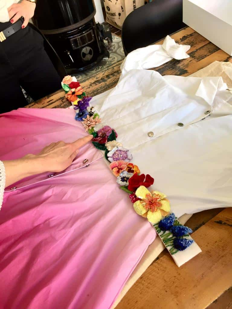Mastering Broderie d'Art 1, Dutch Couture Academy