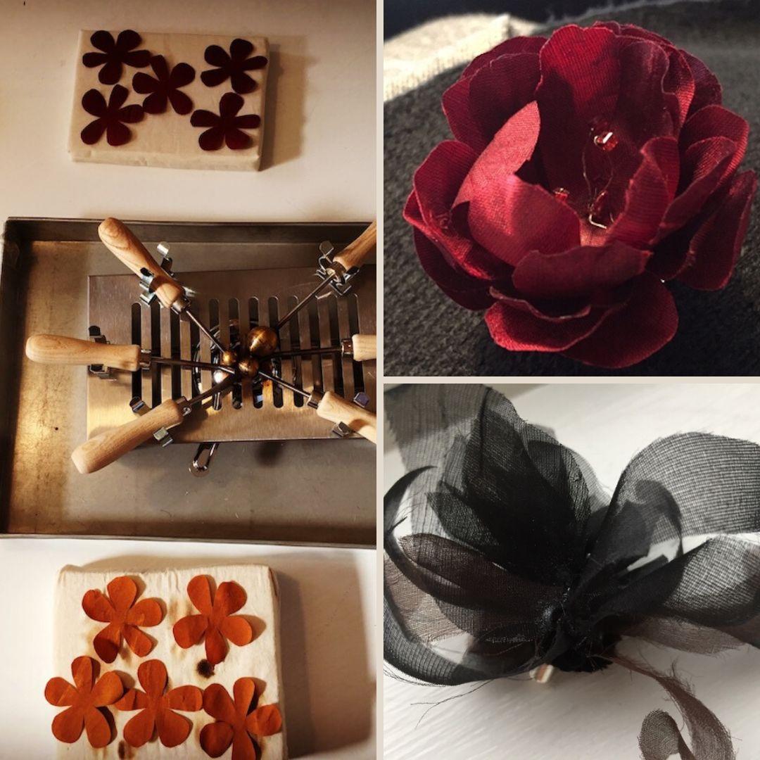 Couture zijdebloemen maken